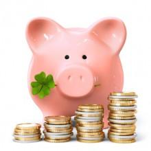 Sparschwein mit eigenen Ersparnissen