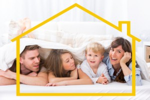 Förderkredit für Hausbau für einkommensschwache Familien