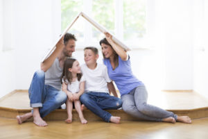 Förderung Hausbau für junge Familien - vor allem für große Familien ein Segen